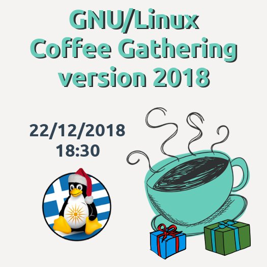 GNU/Linux Coffee Gathering version 2018